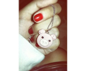 collar, pig, and perfect image