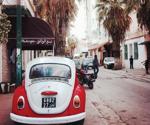 city, street, and tunis image