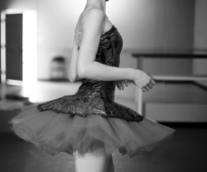 ballet, dress, and dance image