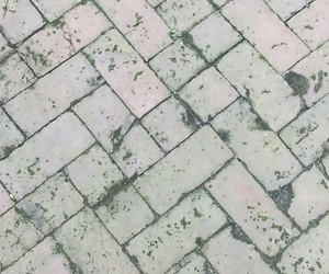 bricks, worn out, and gray image