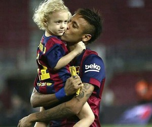 neymar jr, davi lucca, and fc barcelona image