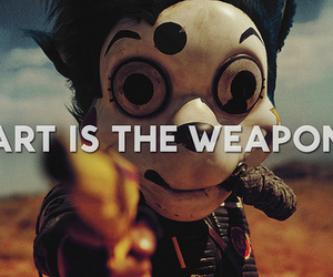 art, my chemical romance, and weapon image