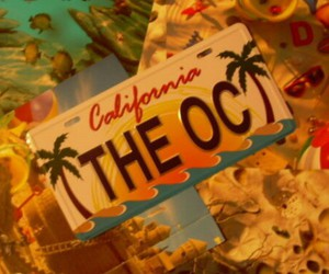 california, beach, and the oc image