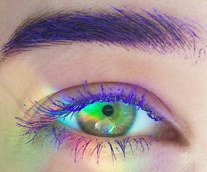 colors, eyes, and green image