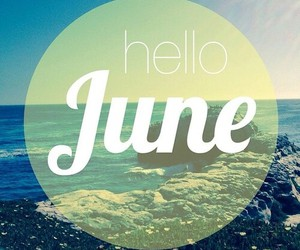 hello, love, and june image