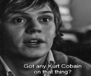 ahs, american horror story, and kurt cobain image