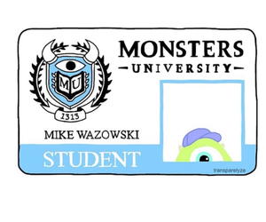 overlay, disney, and monsters image