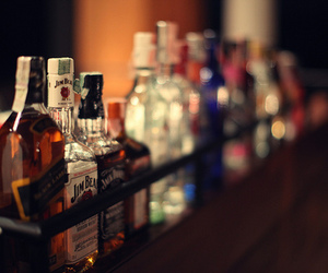 alchohol, bar, and jack daniels image