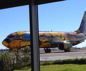 foz do iguacu, airplane of world cup, and paraná - brazil image
