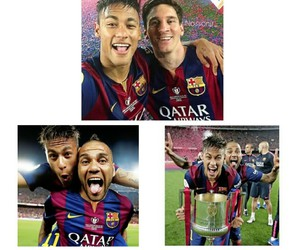 Barcelona, celebration, and cup image