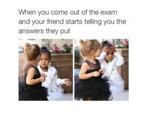 funny, school, and exam image
