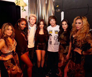 fifth harmony, niall horan, and one direction image