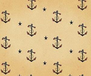 anchor, stars, and wallpaper image