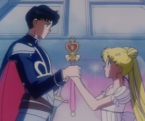 anime, sailor moon, and princess serenity image