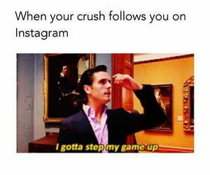 crush, funny, and instagram image
