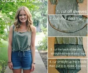 diy, shirt, and Easy image