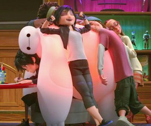big hero 6, disney, and baymax image