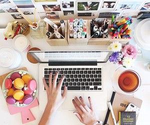 desk, classy, and fashion image