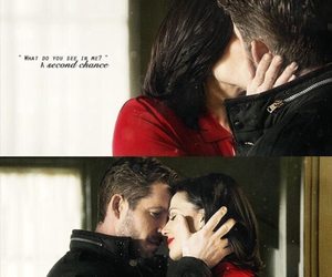 once upon a time, ouat, and outlaw queen image