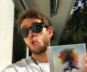 zedd, album, and true colors image