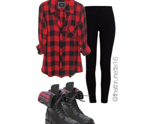 fall, outfit, and outfits image