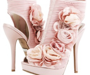 ankle, pink, and booties image