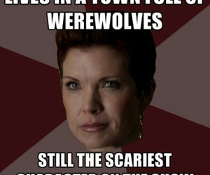 teen wolf, argent, and scary image