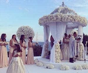 wedding, love, and luxury image