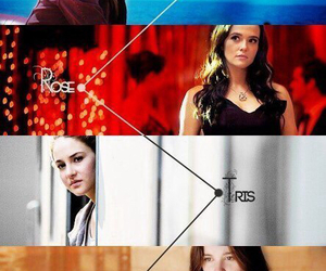 percy jackson, vampire academy, and divergent image