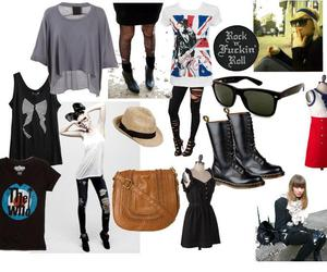 indie, outfit, and rock image