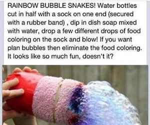 bubbles, diy, and cool image