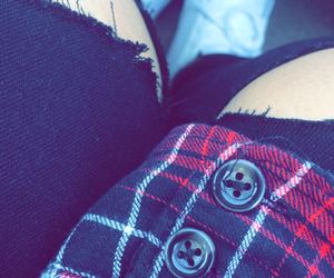 black, Hot, and flannel image