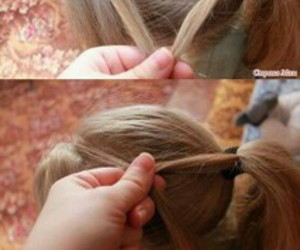 hair style, pretty look, and tutorials image