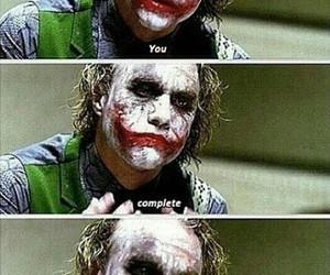 heath ledger, joker, and quote image