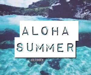 summer, Aloha, and june image