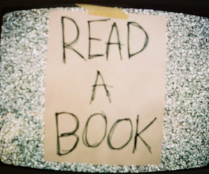book, read, and tv image