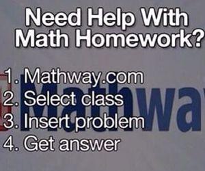 math, help, and homework image