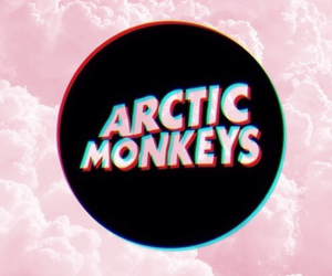 arctic monkeys, pink, and wallpaper image