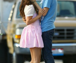 love, couple, and selena gomez image