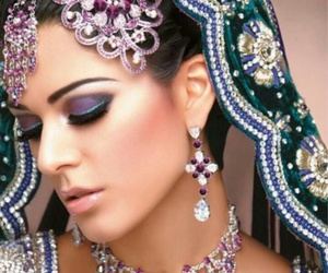 indian and makeup image