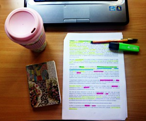 coffee, june, and study image
