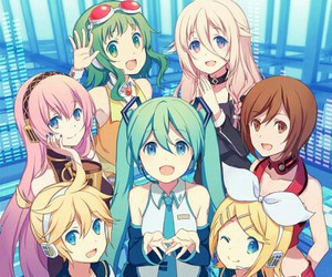 vocaloid, ia, and gumi image