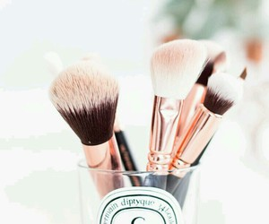 Brushes, make-up, and love them image