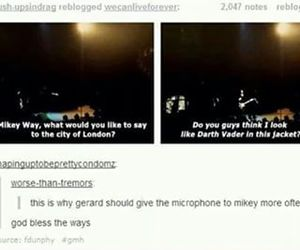funny, jokes, and mcr image