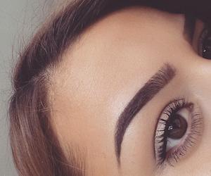 eyebrows and girl image