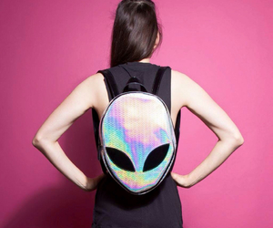 alien, backpack, and bag image