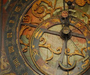 antique, clock, and vintage image
