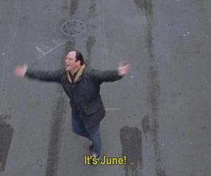 june, summer, and quote image