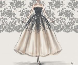dress, art, and draw image