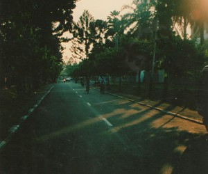 road, street, and vintage image